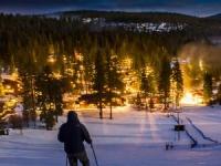 Top of Ski Slope
