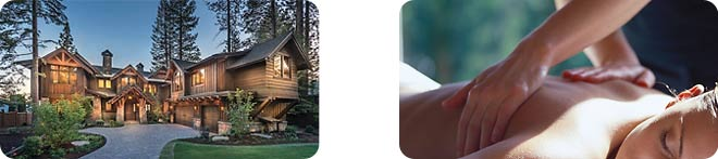 Outcall Massage Treatment and Large Home Located in North Lake Tahoe Truckee